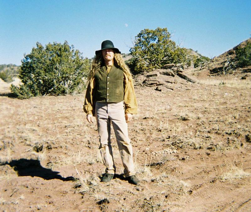 """James E. Blackburn on the set of """"Into the West"""" - 2005"""